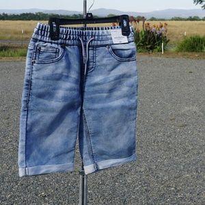 NWT Girls Arizona Jean Co denim shorts size 8